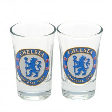 Chelsea FC Shot Glass Set (Pack of 2)